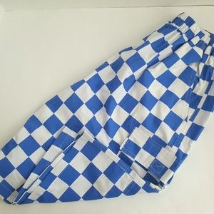 New!Dh Princely Mens Blue & White Shorts
